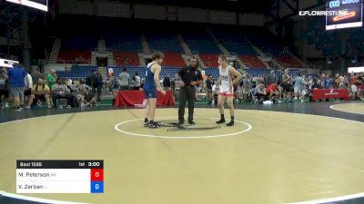 145 lbs Cons 8 #1 - Marcus Peterson, Washington vs Vincent Zerban, Illinois