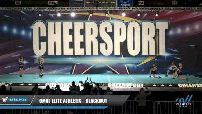 Omni Elite Athletix - BlackOut [2021 L2.2 Senior - PREP - D2 Day 1] 2021 CHEERSPORT: Charlotte Grand Championship