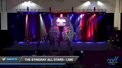 The Stingray All Stars - Lime [2021 L3 Senior - Medium Day 2] 2021 The American Royale DI & DII
