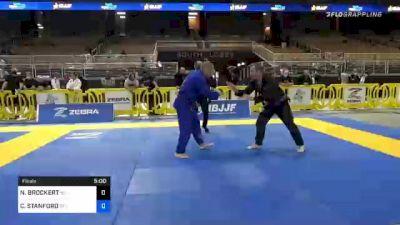 CHRIS STANFORD vs NIALL BROCKERT 2020 World Master IBJJF Jiu-Jitsu Championship