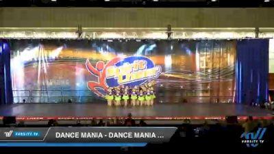 Dance Mania - Dance Mania Mini Jazz [2020 Mini - Jazz Day 2] 2020 All American DI & DII Nationals