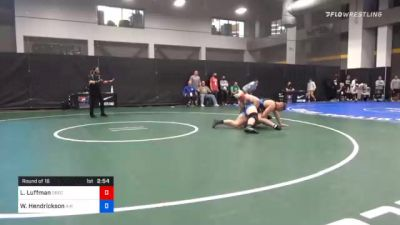 125 kg Prelims - Luke Luffman, Greco-Roman Development vs Wyatt Hendrickson, Air Force Regional Training Center