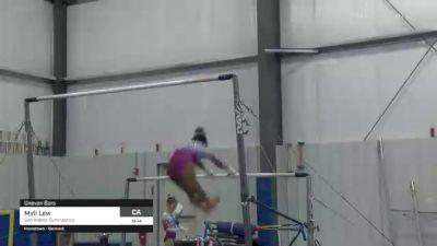 Myli Lew - Bars, San Mateo Gymnastics - 2021 American Classic and Hopes Classic