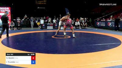 92 kg Consi 8 #2 - Scottie Boykin, TMWC / Spartan Combat RTC vs Isaac Trumble, TMWC / Wolfpack Wrestling Club
