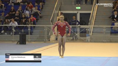 Emma Malabuyo - Floor, USA - 2019 City of Jesolo Trophy
