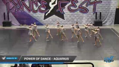 Power of Dance - Aquarius [2021 Junior - Contemporary/Lyrical - Small Day 2] 2021 Badger Championship & DanceFest Milwaukee