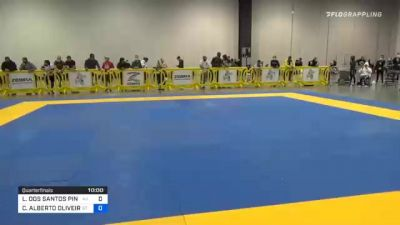 LUCAS DOS SANTOS PINHEIRO vs CARLOS ALBERTO OLIVEIRA DA SILVA 2020 IBJJF Pan No-Gi Championship