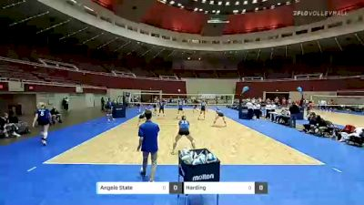 Angelo State vs Harding - 2021 AVCA Division II Women's Volleyball Championship