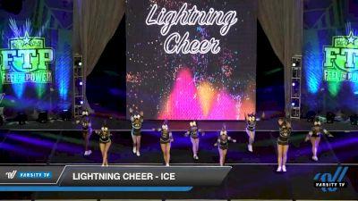 Lightning Cheer - Ice [2020 L3 Senior Day 2] 2020 Feel The Power East