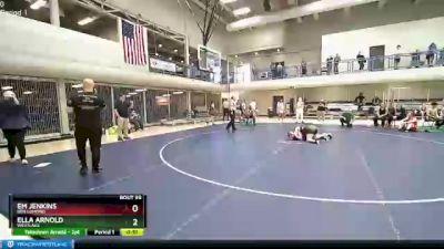 127 lbs 3rd Place Match - Bailey Ryan, Westlake vs Alexia Woods, Cedar Valley