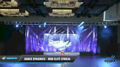 Dance Dynamics - Mini Elite Lyrical [2021 Mini - Contemporary/Lyrical Day 2] 2021 ACP Power Dance Nationals & TX State Championship