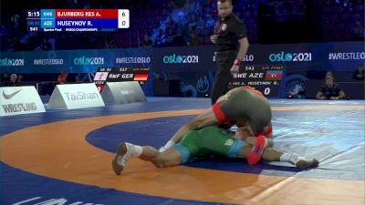 82 kg 1/4 Final - Alex Bjurberg Kessidis, Sweden vs Rafig Huseynov, Azerbaijan