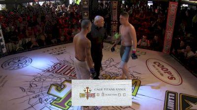 Aaron Hughes vs. Xavier Cardona - Cage Titans 39 Replay