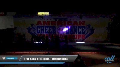 Five Star Athletics - Junior Onyx [2021 L4 - U17 Coed 2] 2021 The American Celebration DI & DII