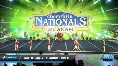 FAME All Stars - Yorktown - Mini Clout [2021 L1 Mini - Small Day 1] 2021 Cheer Ltd Nationals at CANAM