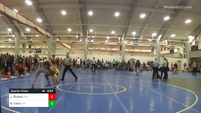 Quarterfinal - James Ruona, University Of Maryland Unattached vs Bradley Irwin, Appalachian State