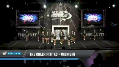 The Cheer Pitt KC - Midnight [2021 L3 Senior Coed Day 1] 2021 The U.S. Finals: Kansas City