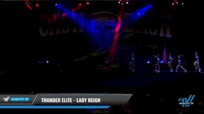 Thunder Elite - Lady Reign [2021 L3 Junior - D2 - Small Day 2] 2021 ACP Cash Bash Championship