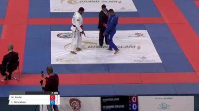 Matheus Xavier vs Leonardo Goncalves Abu Dhabi Grand Slam Rio de Janeiro