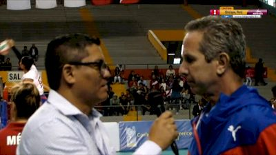 Full Replay - 2019 NORCECA Womens XVIII Pan-American Cup - Group A - Jul 12, 2019 at 5:52 PM CDT