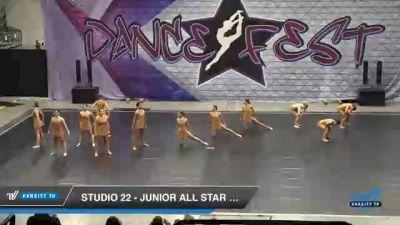 Studio 22 - Junior All Star Lyrical [2021 Junior - Contemporary/Lyrical - Small Day 2] 2021 Badger Championship & DanceFest Milwaukee