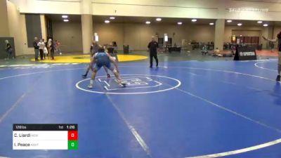 126 lbs Final - Chase Liardi, New York vs Isham Peace, Kentucky