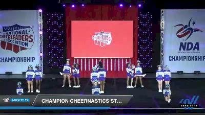 - Champion Cheernastics Steel [2019 Junior 1 Day 1] 2019 NCA North Texas Classic
