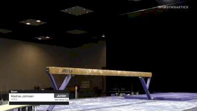 Madray Johnson - Beam, WOGA - 2021 Winter Cup & Elite Team Cup