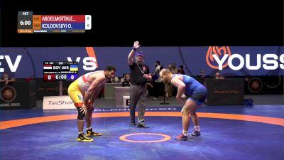 125 kg Bronze - Diaaeldin Abdelmotta, EGY vs Oleksandr Koldovskyi, UKR