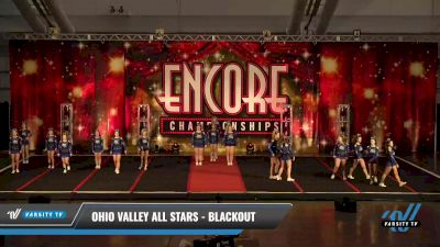 Ohio Valley All Stars - Blackout [2021 L3 Senior - D2 Day 2] 2021 Encore Championships: Pittsburgh Area DI & DII