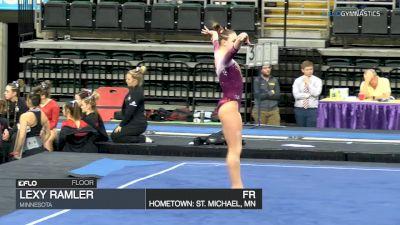 Lexy Ramler - Floor, Minnesota - GymQuarters Invitational (NCAA)