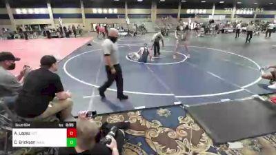 145 lbs 3rd Place - Alonzo Lopez, Victory WC vs Colton Erickson, Sanderson Wr Ac