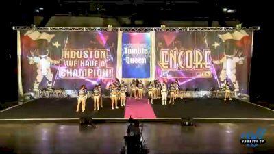 Tumble Queen - Snap 6 [2020 L6 Senior Coed Open - Small Day 2] 2020 Encore Championships: Houston DI & DII
