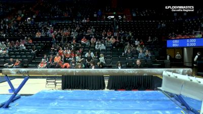 Full Replay - 2019 NCAA Gymnastics Regional Championships - Oregon State - Beam - Apr 6, 2019 at 8:34 PM CDT