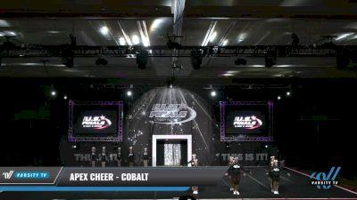 Apex Cheer - Cobalt [2021 L1.1 Junior - PREP 2] 2021 The U.S. Finals: Grapevine