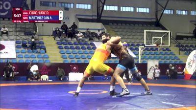 82 kg Rr Rnd 3 - David Elias Choc Huoc, Guatalema vs Alexis Armando Martinez Sanchez, Mexico