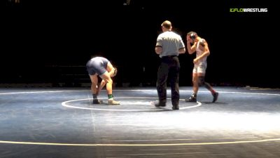 157 lbs Final - Joel Romero, Clackamas vs Ethan Karsten, Iowa Central