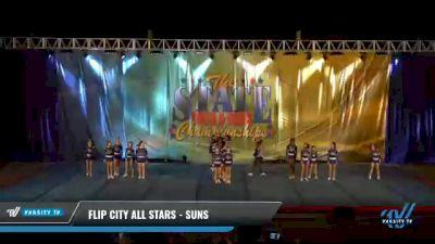 Flip City All Stars - Suns [2021 L3 Junior - Small Day 2] 2021 The STATE DI & DII Championships
