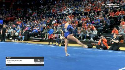 Alyssa Baumann - Floor, Florida - 2019 NCAA Gymnastics Regional Championships - Oregon State
