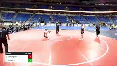 132 lbs Final - Jimmy Harrington, New England vs Gregor Mcneil, Pennsylvania
