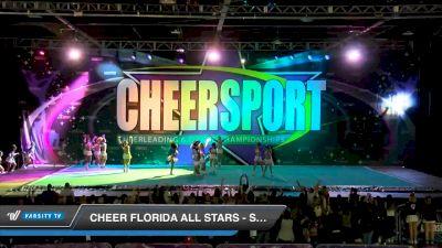 Cheer Florida All Stars - Sea Warriors [2020 Senior Small 6 Day 2] 2020 CHEERSPORT National Cheerleading Championship