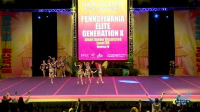 Pennsylvania Elite - Generation X [2018 Senior-Restricted--Small Day 1] ACDA Reach The Beach OC All Star and College Nationals