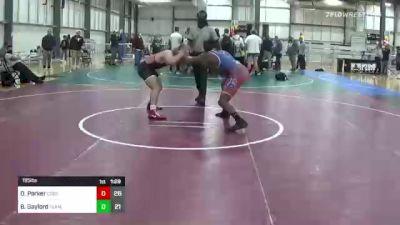 195 lbs Rr Rnd 5 - Dj Parker, Cobra Kai vs Bobby Gaylord, Team Gotcha