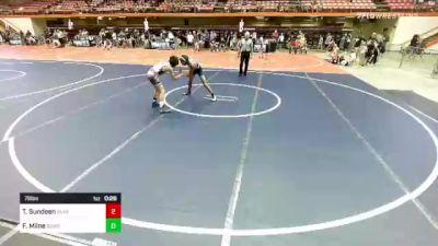 88 lbs Rr Rnd 2 - Christopher McLennan, Princeton vs Grant Eschiti, Team Zapas