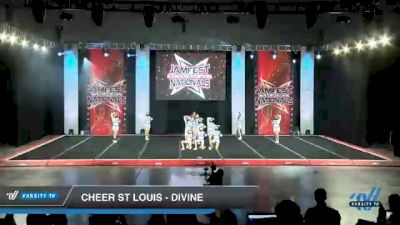 Cheer St Louis - Divine [2021 L4 Junior - Small - A Day 1] 2021 JAMfest Cheer Super Nationals