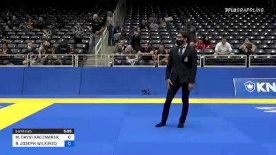 MICHAEL DAVID KACZMAREK vs BRIAN JOSEPH WILKINSON 2021 World IBJJF Jiu-Jitsu No-Gi Championship