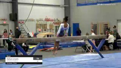 Kaliya Lincoln - Beam, WOGA Gymnastics - 2021 American Classic and Hopes Classic