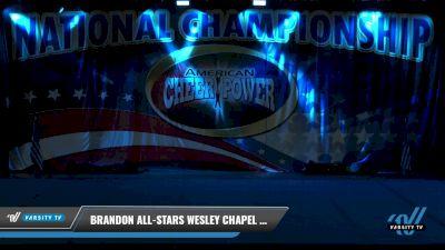 Brandon All-Stars Wesley Chapel - Lavender [2021 L2.2 Junior - PREP Day 1] 2021 ACP: Tournament of Champions