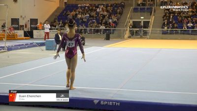 Guan Chenchen - Floor, China - 2019 City of Jesolo Trophy
