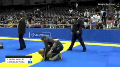 GABRIEL SALLES MUNIZ ALMEIDA vs MATEUSZ MIROSLAW FLAGA 2021 World IBJJF Jiu-Jitsu No-Gi Championship